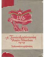 A Tanácsköztársaság Hajdú-Biharban 1919 - Komoróczy György, Fehér András, Gazdag István, Farkas Dezső