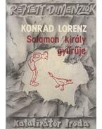 Salamon király gyűrűje - Konrad Lorenz