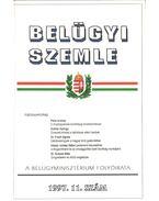 Belügyi Szemle 1997/11. szám - Korinek László