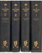 A mai világ képe I-IV. kötet - Kornis Gyula, Gratz Gusztáv, Hegedüs Loránt, Schimanek Emil
