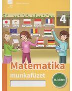 Matematika munkafüzet 4. II. kötet - Kóródi Bence
