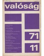 Valóság 1971/11 - Kőrösi József