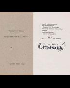 Szimmetrista kiáltvány (aláírt) - Körössényi János