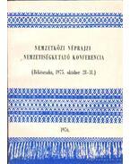 Nemzetközi néprajzi nemzetiségkutató konferencia (Békéscsaba, 1975. október 28-31.) - Kósa László, Krupa András