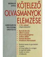 Kötelező olvasmányok elemzése 8. - Herman Anna