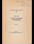 Magyar állatmesék típusmutatója (Dedikált) - Kovács Ágnes