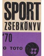 Sport zsebkönyv '70/71 - Kovács József, Elbert György, Aszódi József, dr. Konka Zoltán, Szohár Ferenc, dr. Varga H. István