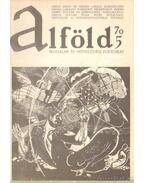 Alföld 1970/5. - Kovács Kálmán
