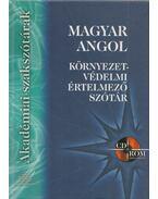 Magyar-angol környezetvédelmi értelmező szótár - Kovács Terézia