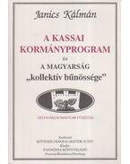 A kassai kormányprogram és a magyarság