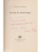 Öklök és tenyerek (Dedikált) - Ladányi Mihály