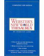 Webster's New World Thesaurus - LAIRD, CHARLTON