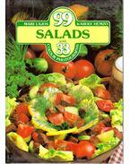99 Salads with 33 Colour Photographs - Lajos Mari, Hemző Károly
