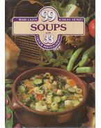 99 soups with 33 colour photographs - Lajos Mari, Hemző Károly