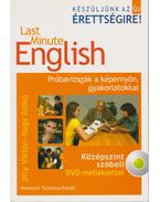 Last Minute English - Középszint szóbeli DVD-melléklettel - Jilly Viktor, Nagy Ildikó
