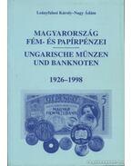 Magyarország fém- és papírpénzei - Leányfalusi Károly - Nagy Ádám