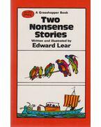 Two Nonsense Stories - Lear, Edward