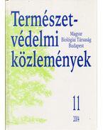 Természetvédelmi közlemények 11. - Lendvai Ádám Zoltán, Szentirmai István (szerk.)
