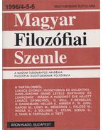 Magyar Filozófiai Szemle 1996/4-5-6 - Lendvai L. Ferenc