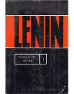 Lenin válogatott művei I. - Lenin, Vlagyimir Iljics
