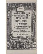Biblia / das ist / die gantze Heilige Schrifft Deudsch I-III. (reprint) - Luther, Martin, Brendler, Gerhard, Endermann, Heinz, Kratzsch, Konrad, Fühmann, Franz