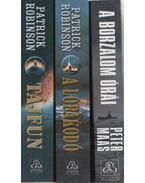 3 db tengeralattjárós regény - Maas, Peter, Patrick Robinson