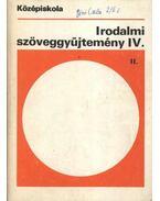Irodalmi szöveggyűjtemény IV. - Madocsai László