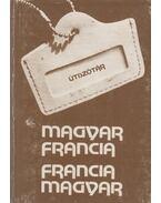 Magyar-francia, francia-magyar útiszótár