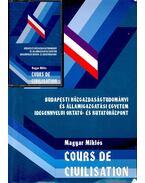 Cours de civilisation - Magyar Miklós