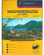 Magyarország + 23 város autóatlasz