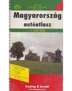 Magyarország autóatlasza 1:250000