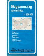Magyarország autótérképe 1:500000