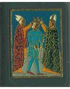Árpádok - II. Istvántól III. Istvántól (mini) - zománcplakettel - Makk Ferenc