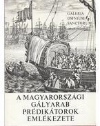 A magyarországi gályarab prédikátorok emlékezete - Makkai László