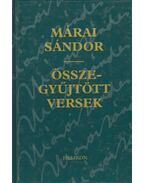 Összegyűjtött versek - Márai Sándor