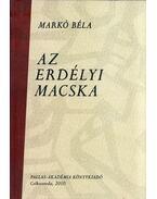 Az erdélyi macska (dedikált) - Markó Béla