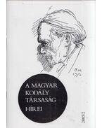 A Magyar Kodály Társaság hírei 2005/2 - Márkusné Natter-Nád Klára