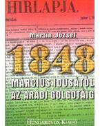 Március idusától az aradi Golgotáig - Martin József