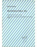 Matematika III. - Rácz János