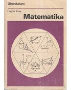 Matematika IV. - Hajnal Imre, Némethy Katalin
