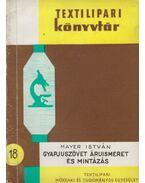 Gyapjúszövet áruismeret és mintázás - Mayer István