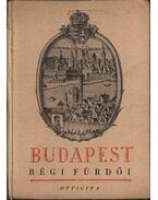 Budapest régi fürdői - Medriczky Andor