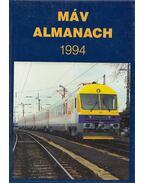MÁV almanach 1994 - Mezei István