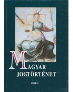Magyar jogtörténet - Mezey Barna