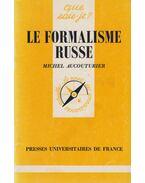 Le formalisme russe (dedikált) - Michel Aucouturier