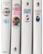 4 db Scarlett könyv - Milland, Audrey D., Ripley, Alexandra