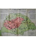 Mit vesztett a magyar szinészet Trianon által? (Térkép-Plakát)