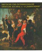 Deutsche und österreichische Gemälde aus dem 17.-18. Jahrhundert - Mojzer Miklós