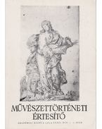 Művészettörténeti értesítő XXXII. évf. 1-2. szám - Mojzer Miklós