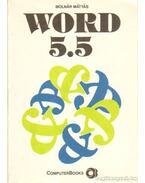 Word 5.5 - Molnár Mátyás